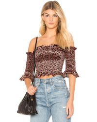 Blue Life - Kaia Smocked Top - Lyst
