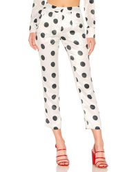 House of Harlow 1960 - X Revolve Vincent Pant In White - Lyst