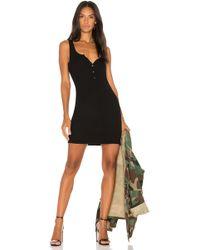 Michael Lauren - Runner Tank Dress In Black - Lyst