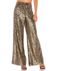 MILLY - Sequins Sia Trouser - Lyst