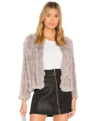 Heartloom - Rosa Dyed Rex Rabbit Fur Jacket - Lyst
