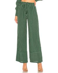 Faithfull The Brand - Havana Trousers In Green - Lyst