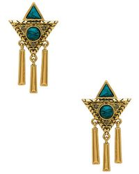 House of Harlow 1960 - X Revolve Durango Triangle Earrings - Lyst