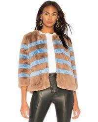 Kule - The Bailey Jacket In Brown - Lyst