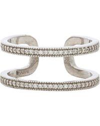 Shashi - Kaylee Ring In Metallic Silver. - Lyst