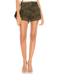 Sanctuary - Wanderer Short In Dark Green - Lyst