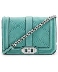 Rebecca Minkoff - Small Love Crossbody Bag In Green. - Lyst