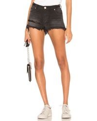 One Teaspoon - Bonita High Waist Short - Lyst