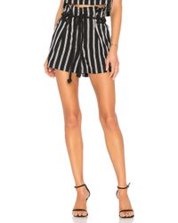 House of Harlow 1960 - X Revolve Emeric Shorts In Navy - Lyst