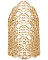 Kendra Scott - Boone Ring In Metallic Gold. - Lyst