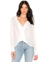 Likely - Georgette Mimi Top In White - Lyst