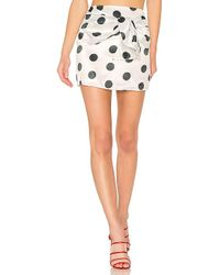 House of Harlow 1960 - X Revolve Nicholas Skirt In White - Lyst