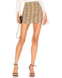 Alice + Olivia - Elana Mini Skirt - Lyst