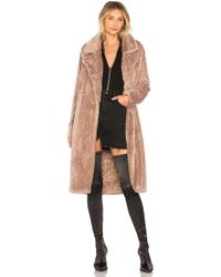 Lovers + Friends - Teddy Fur Coat - Lyst