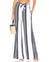 Chaser - Cool Jersey Paperbag Waist Pant - Lyst