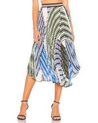 Parker - Sharri Skirt In Cream - Lyst
