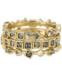 Kendra Scott - Karis Ring Set In Metallic Gold - Lyst