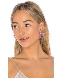 Jennifer Behr - Sera Earrings In Pink. - Lyst