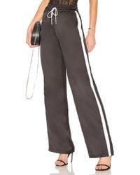 MAJORELLE - Drawstring Pyjama In Black - Lyst