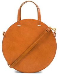 Clare V. - Petit Alistair Tote In Brown. - Lyst