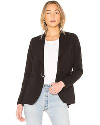 SOIA & KYO - Eudora Blazer In Black - Lyst