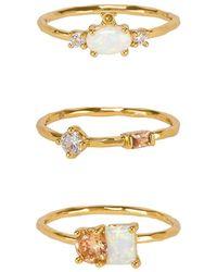 Gorjana - Hudson Ring Set - Lyst