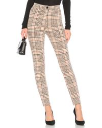 Free People - Carnaby Plaid Pant - Lyst