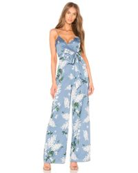 Keepsake - This Moment Jumpsuit In Blue - Lyst