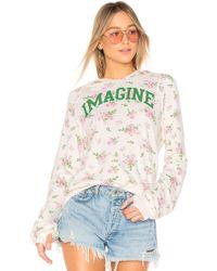 Pam & Gela - Imagine Sweatshirt - Lyst