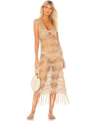 Pilyq - Raven Cover Up In Tan - Lyst