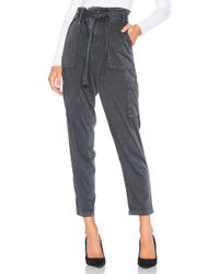 Splendid - Scout Cargo Pant In Gray - Lyst