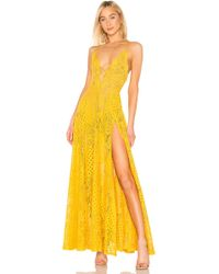 Michael Costello - X Revolve Victory Gown - Lyst 4c01b650a90