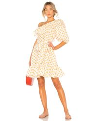 Lisa Marie Fernandez - Arden Linen Mini Dress - Lyst