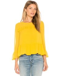 Cupcakes And Cashmere | Katlyn Top | Lyst