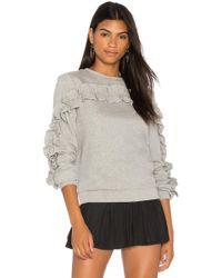 Endless Rose - Ruffle Detail Sweater - Lyst