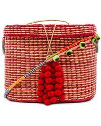 Nannacay - Kiki Striped Bucket In Red. - Lyst