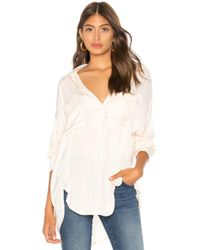 Free People - Starry Dreams Pullover In Cream - Lyst