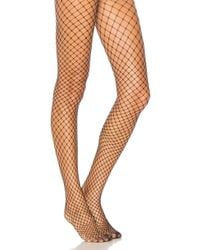 Commando - Open Air Net Tights In Black - Lyst