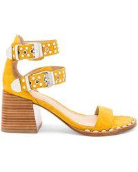 Sigerson Morrison - Apple Sandal In Mustard - Lyst