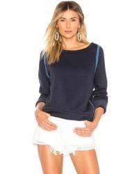Maaji - Deep Blue Lagoon Reversible Sweatshirt In Navy - Lyst