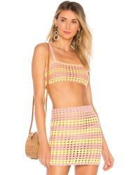 Lovers + Friends - Lily Crop Top - Lyst