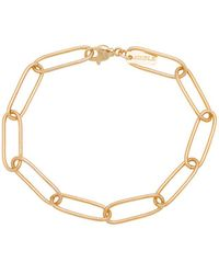Joolz by Martha Calvo - Tribeca Chain Link Bracelet In Metallic Gold. - Lyst