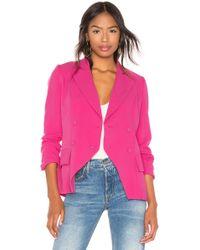 Elliatt - Opulent Blazer In Pink - Lyst
