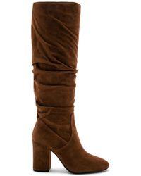 COACH - Graham Slouchy Heel Boot - Lyst