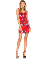 Free People - Sweet Cherry Mini Dress In Red - Lyst