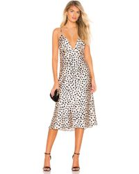 Lovers + Friends - Winslet Midi Dress - Lyst