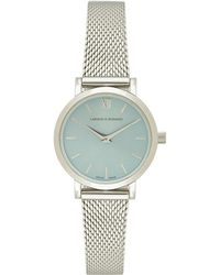 Larsson & Jennings - 5th Anniversary Lugano Solaris 26mm Watch In Metallic Silver. - Lyst