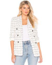 Rebecca Taylor - Plaid Tweed Jacket - Lyst