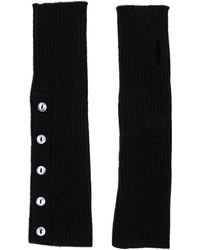 Autumn Cashmere - Buttoned Rib Arm Warmers - Lyst