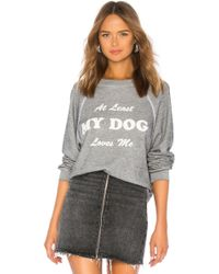 Wildfox - My Dog Loves Me Sommers Sweatshirt - Lyst